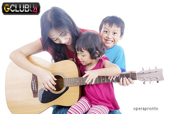 เด็กและพัฒนาการในด้านดนตรี