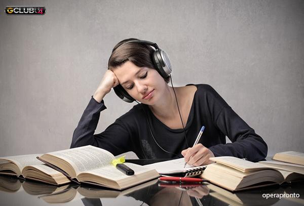 การฟังเพลงระหว่างเรียนมีประโยชน์อย่างไร